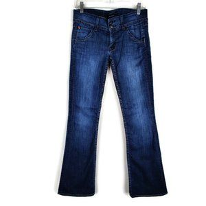 Hudson Boot cut Flap pocket Jeans. Size: 27